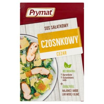 Garlic salad sauce Cezar Prymat 9g
