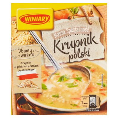 Winiary polnische Graupensuppe 59g