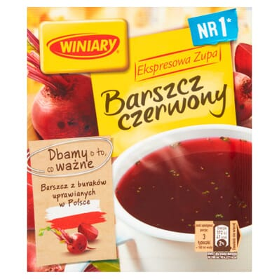 Red borscht Winiary 60g