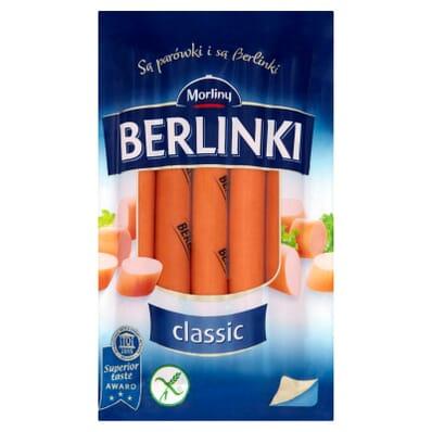 Berlinki classic sausages Morliny 250g