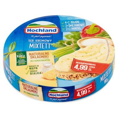 Mixtett cream cheese Hochland 200g