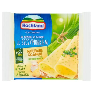 Cream cheese with chive Hochland 130g