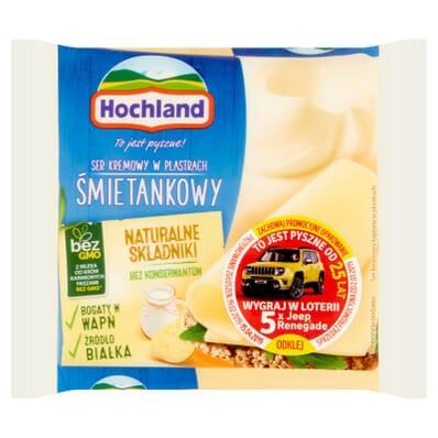 Cream cheese (cream flavour) Hochland 130g