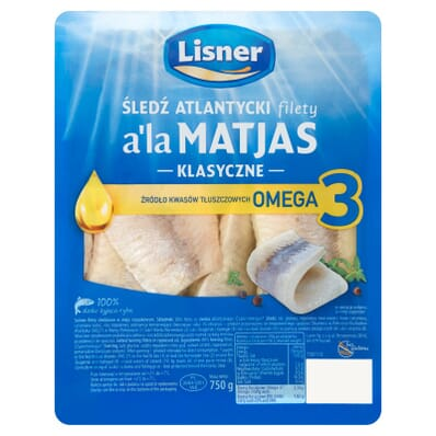 Herring / Herring fillets in oil a'la Matjas Lisner 750g