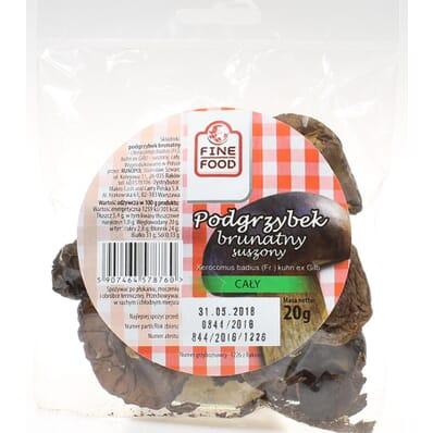 Grzyby suszone podgrzybek brunatny Fine Food 20g