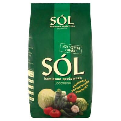 Przyprawa Sól jodowana z Kłodawy 1kg