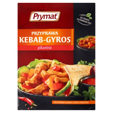 Przyprawa kebab-gyros pikantna Prymat 30g