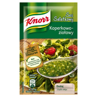 Salad dill and herbs sauce Knorr 9g