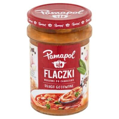 Zupa Flaczki wołowe po zamojsku Pamapol 500g