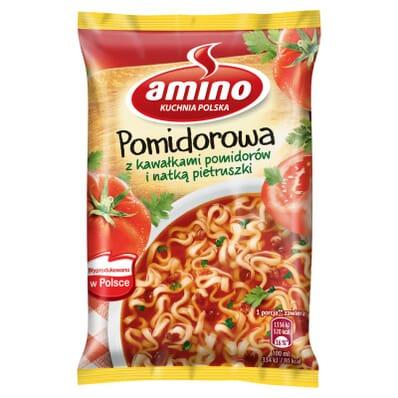 Zupa błyskawiczna Pomidorowa Amino 61g
