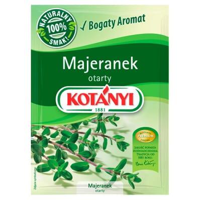 Przyprawa majeranek otarty Kotanyi 9g