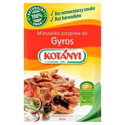 Przyprawa mieszanka Gyros Kotanyi 30g