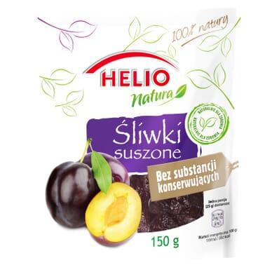 Owoce suszone śliwki Natura Helio 150g