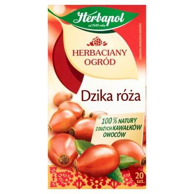 Herbata Dzika róża Herbapol 20 torebek