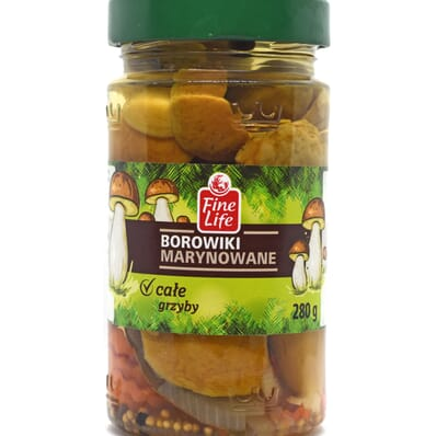 Marinated porcini mushrooms Fine Life 280g