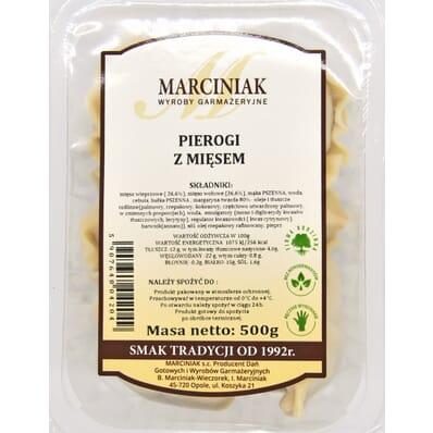 Pierogi z mięsem Marciniak 500g
