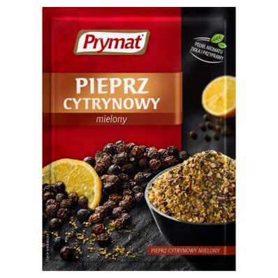Przyprawa Pieprz cytrynowy mielony Prymat 20g