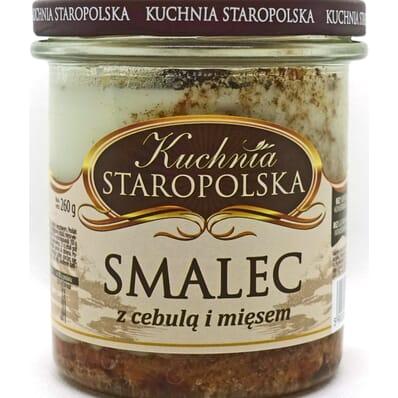 Smalec z cebulą i mięsem Kuchnia Staropolska 260g
