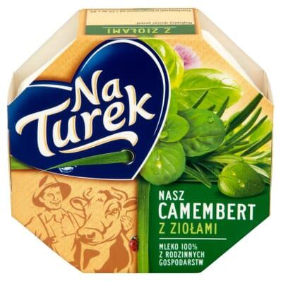 Ser Camembert z ziołami Na Turek 120g