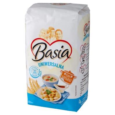 Mąka uniwersalna typ 480 Basia 1kg