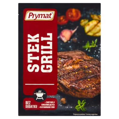 Przyprawa Grill stek Prymat 20g