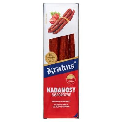 Eksportowe dry pork sausage Krakus 180g