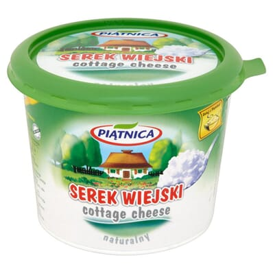 Natural cottage cheese Piatnica 500g