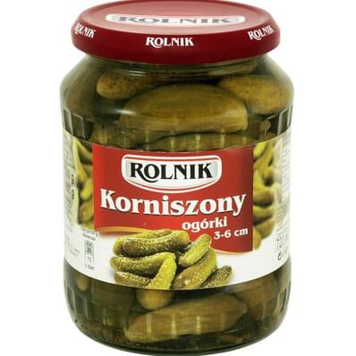 Cornichons 3-6cm Rolnik 720ml